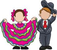 illustration-mexicaine-traditionnelle-de-danse-folklorique-40387729